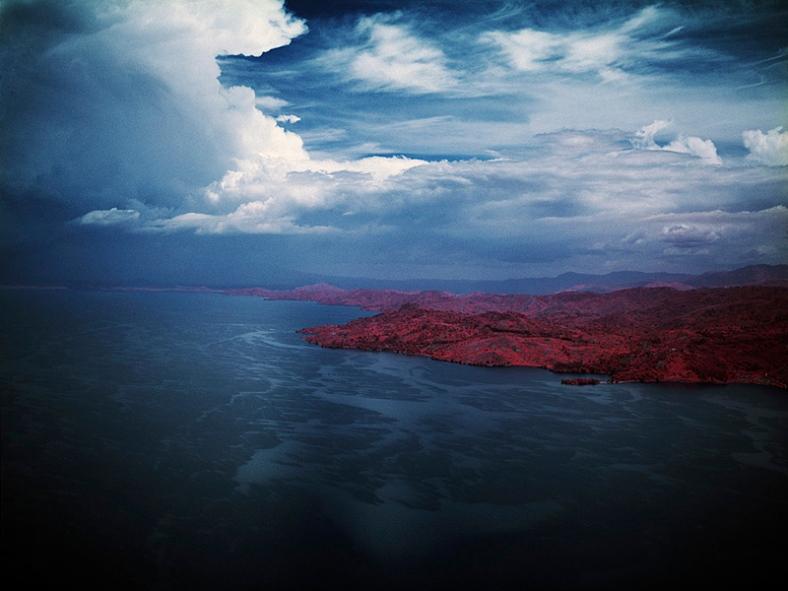 The Blue Mask, Lake Kivu, Eastern Congo, 2010 ©