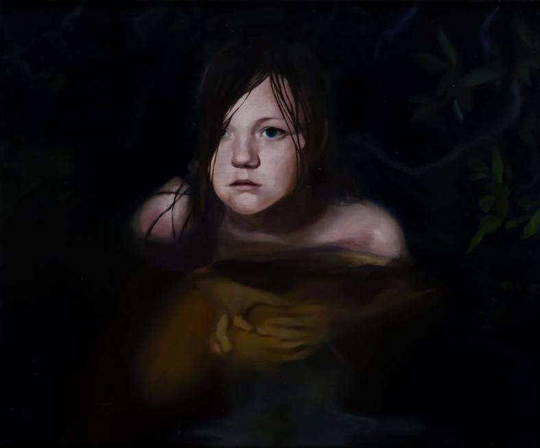 Black Pond IV, Oil on canvas, 38x46cm, 2013 Courtesy de l'artiste et de la galerie Da-End