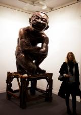 Yue Minju the tao laughter n°1, 2012, Galerie Templon Paris