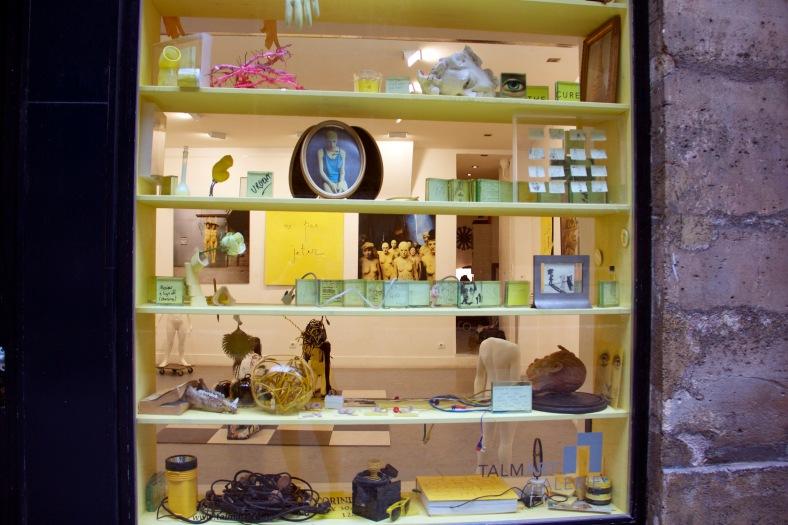 cabinet de curiosité galerie Talmart