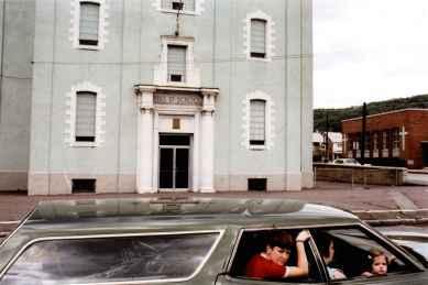Mark Cohen, Pine Street School, Hazelton Bruce Silverstein Gallery