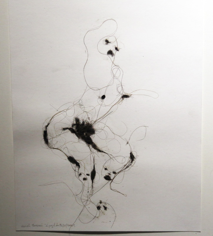 Lionel Sabatté- poussière sur papier- Courtesy de l'artiste et de la galerie da-End