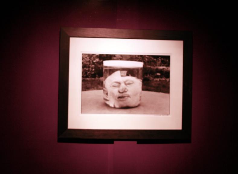 Michel Giniès - Tête de guillotiné vendue aux enchères en 1987- courtesy del'artiste et de la galeri da-end